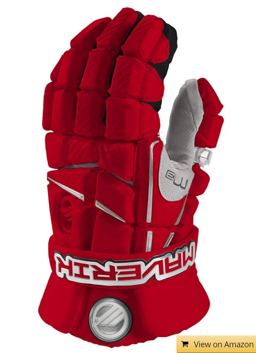 M3 Lacroose Gloves Red