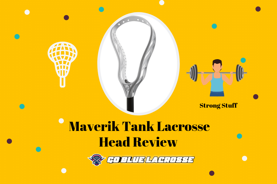 Maverik Tank Lacrosse Head Review - The Best Defense Head Invented!