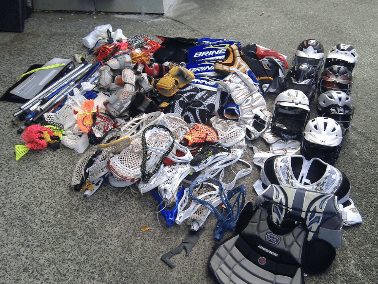 Used Lacrosse Equipment