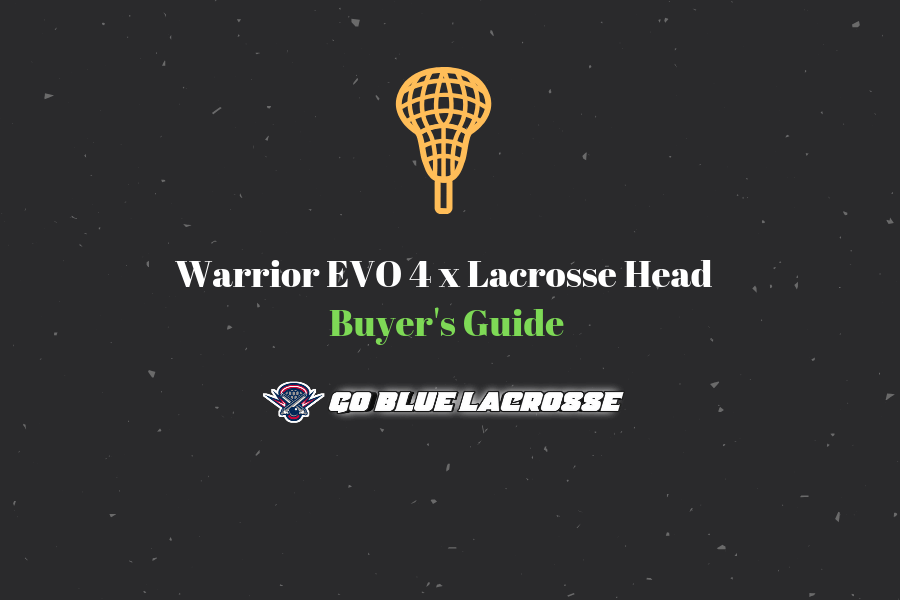 Quick Review of Warrior EVO 4X Lacrosse Head - Value for Money