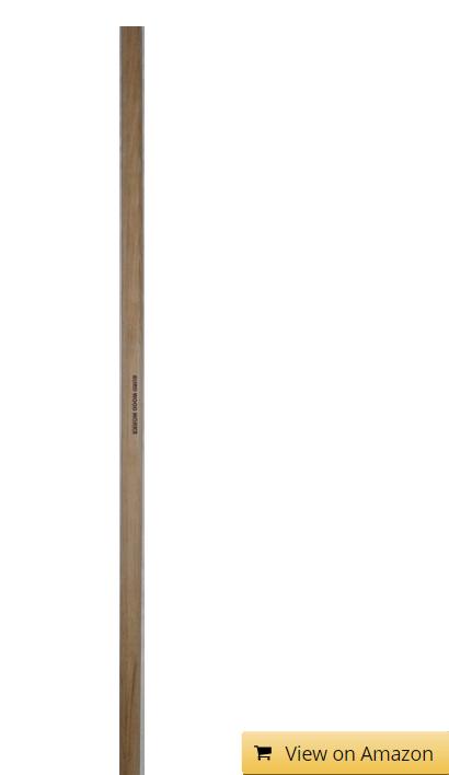 Burd Wood Works Hickory Lacrosse Defense Shaft