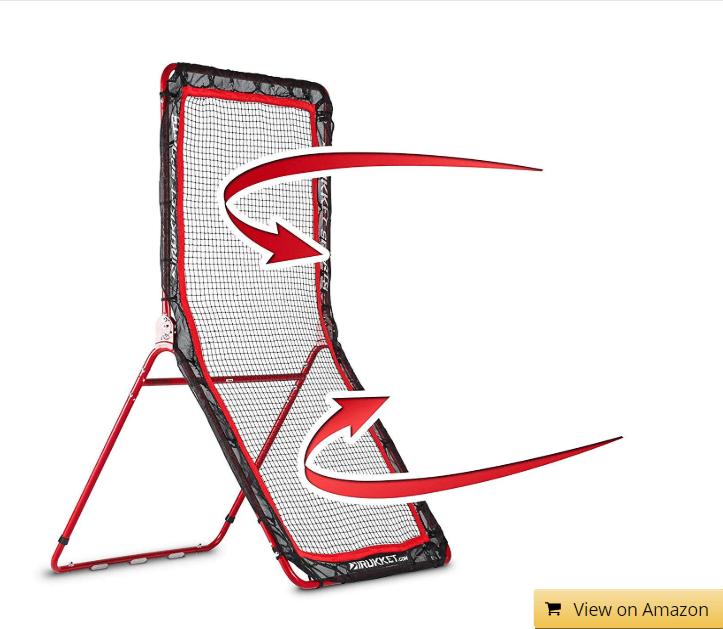 Rukket 4x7ft Lacrosse Rebounder Pitchback Training Screen