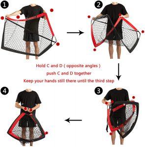 Best lacrosse Goals for Kids & Juniors